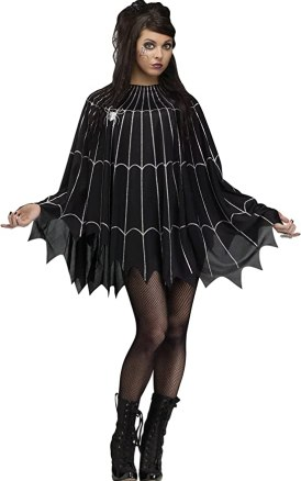 Quick and Easy Halloween Costume Poncho