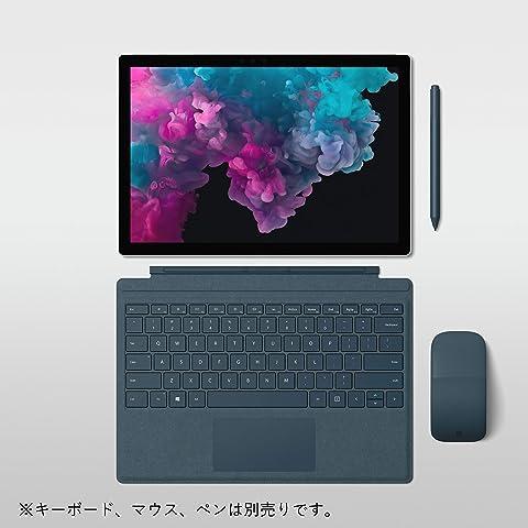 マイクロソフト Surface Pro 6 [サーフェス プロ 6 ノートパソコン] Office Home and Business 2019 / Windows 10 Home / 12.3 インチ Core i5/128GB/8GB プラチナ LGP-00017