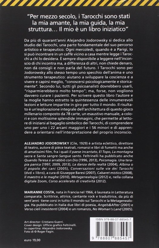 La via dei tarocchi Alejandro Jodorowsy Marianna Costa
