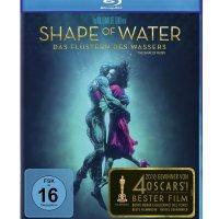 Shape Of Water : Das Flüstern des Wassers / Regie u. Drehb.: Guillermo del Toro. Darst.: Sally Hawkins, Michael Shannon, Richard Jenkins, Octavia Spencer, Doug Jones, Michael Stuhlbarg [...]