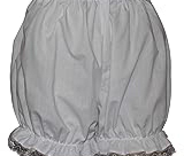 Brigitta Victorian Edwardian Bloomers Pantaloons With Lace Trim Fancy Dress Sissy Knickers