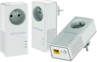 NETGEAR PLP1000T-100FRS Pack de 3 CPL 1000 Mbps