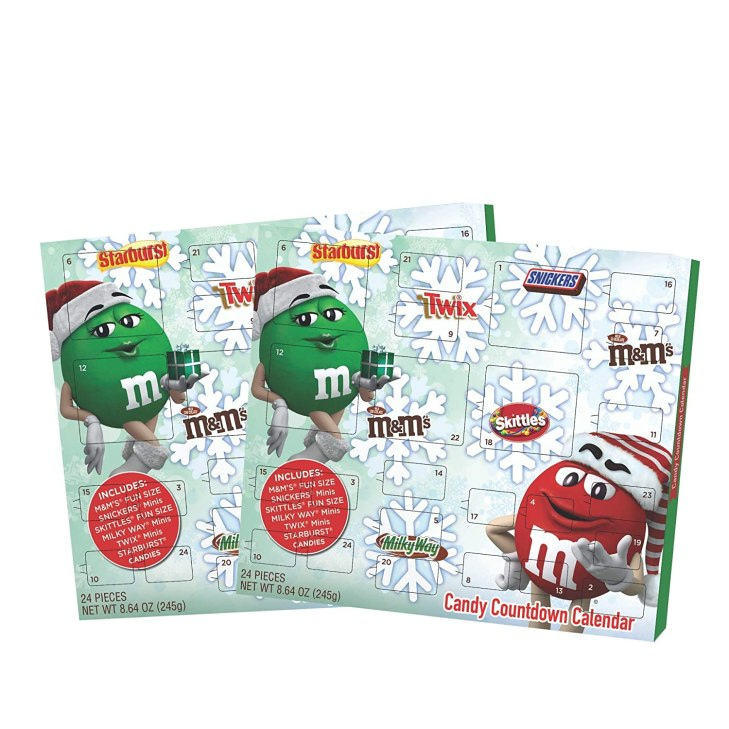 Candy Advent Calendar