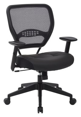 SPACE Seating Professional Air Grid Eco Leather Seat