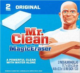 Amazon.com: Mr Clean Erase and Renew Magic Eraser, Original, 2 Count: Health & Personal Care