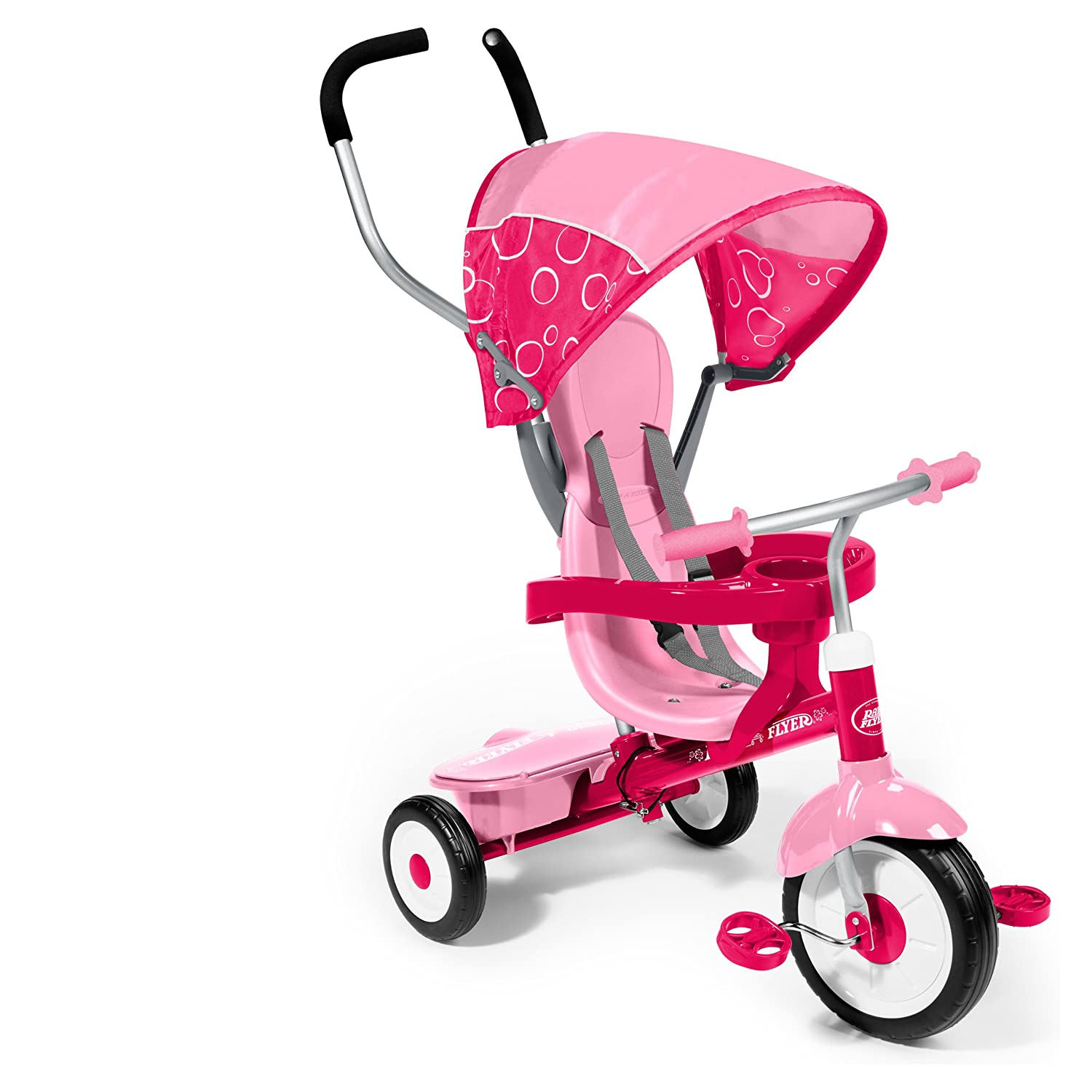 Radio Flyer 4-in-1 Trike, Pink