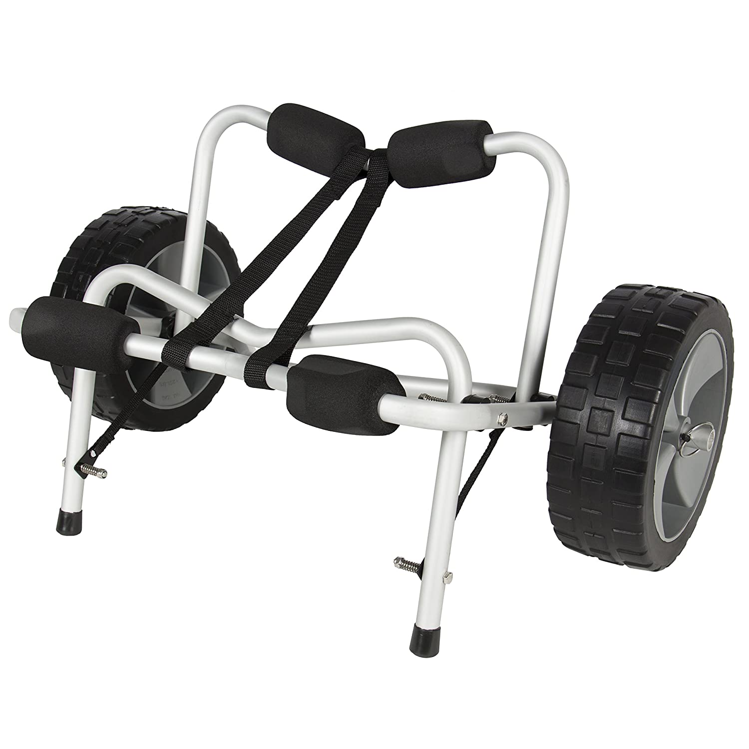 Best Choice Products SKY1251 Boat Kayak Canoe Carrier Dolly Trailer Tote Trolley Transport Cart