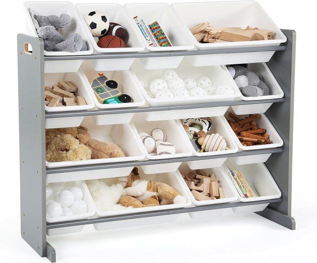 Wood Toy Storage Organizer