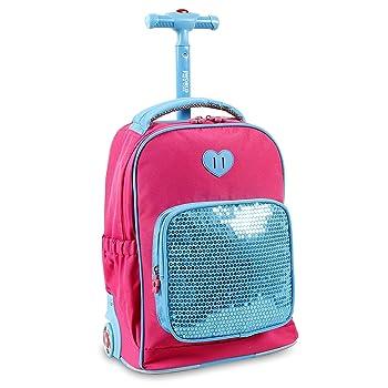 JWorld Sparkle Kids Rolling Backpack