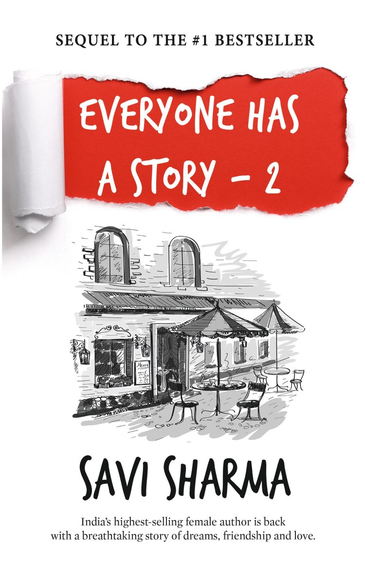 Savi sharma Everyone Has a Story 2 Book