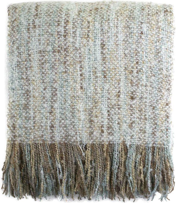 Faux Mohair Shabby Chic Throw Blanket