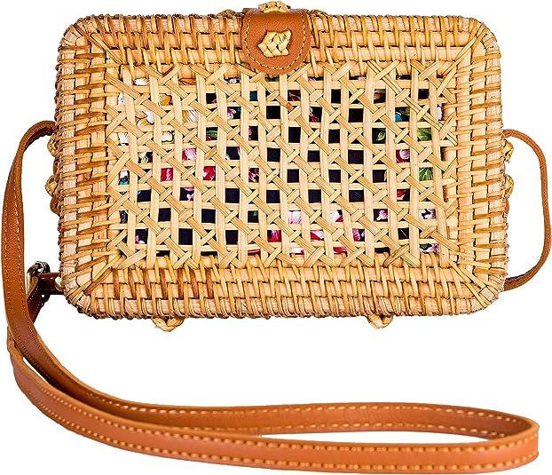 straw purse from amazon, unique purses beautiful cute summer handbag
