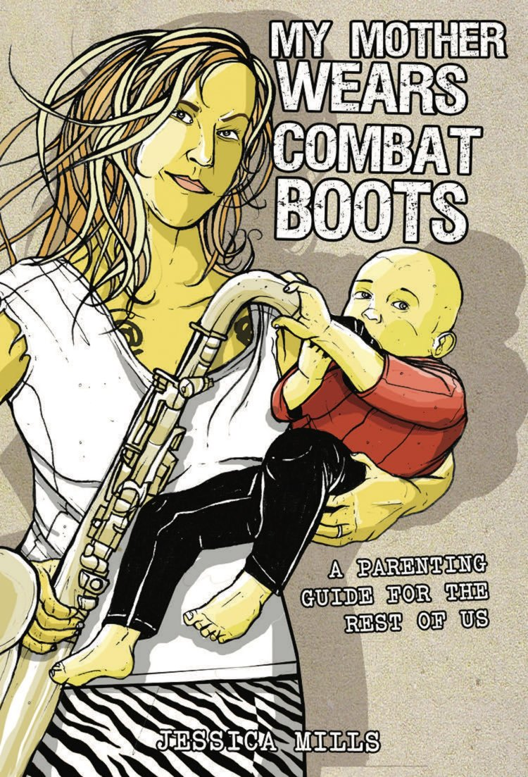 Image result for jessica mills my mother wears combat boots