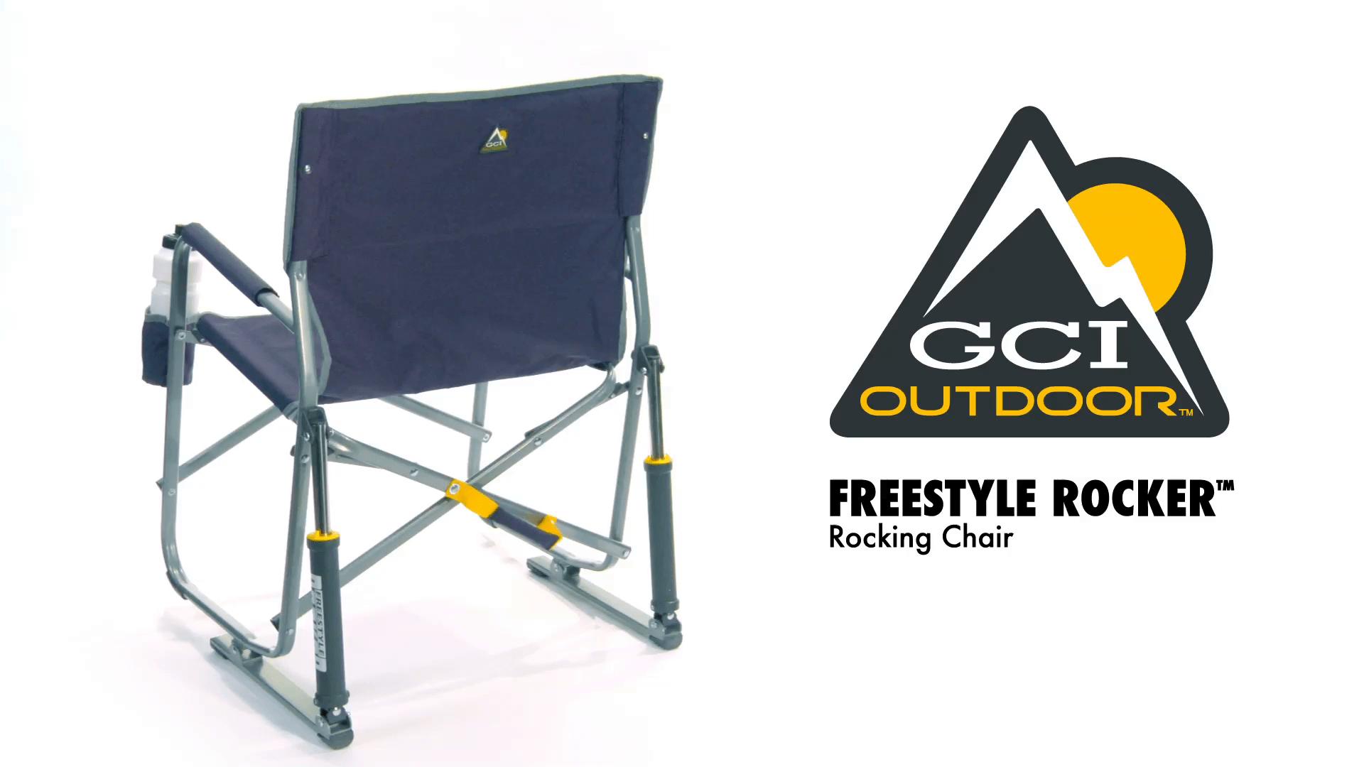 Awe Inspiring Gci Outdoor Freestyle Rocker Portable Folding Rocking Chair Caraccident5 Cool Chair Designs And Ideas Caraccident5Info