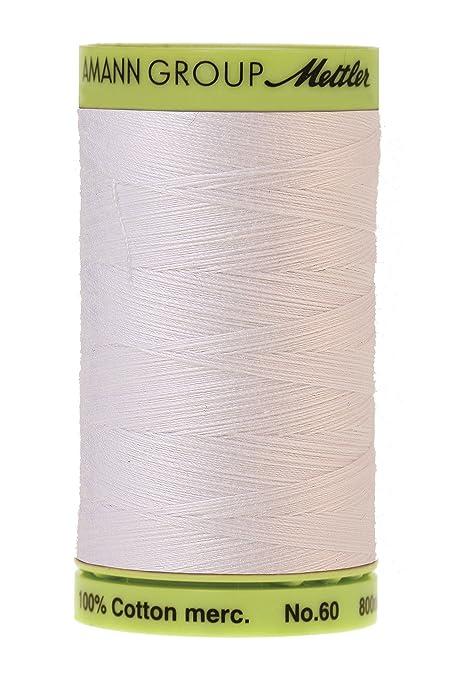 Mettler 60 wt. Cotton Embroidery Thread