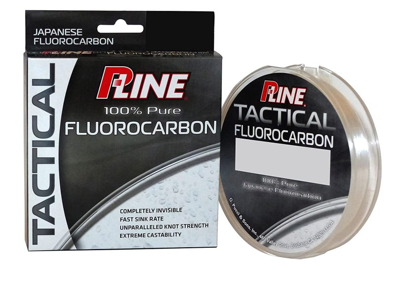 P-Line Tactical Premium Flurorcarbon 200 Yard, Filler Spool