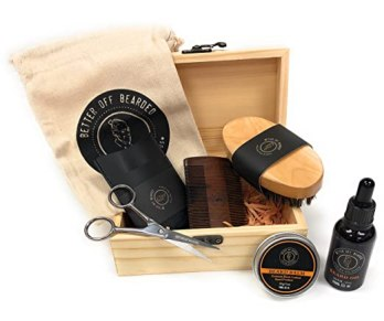 Beard Grooming Kit For Men - Premium Men's Set For Your Special Man, Achieve A Healthy Fuller Beard Achieving The Look You Desire With Soft Controlled Facial Hair. Buy For Real Men With Real Beards.