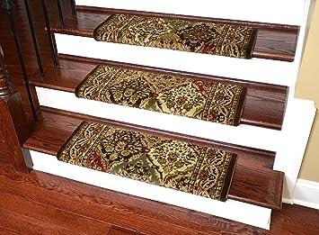 Amazon Com Dean Premium Pet Friendly Tape And Adhesive Free Non | Dean Premium Carpet Stair Treads | Bullnose Carpet | Stair Runners | Nylon Carpet | Diy Carpet | Hardwood Stairs
