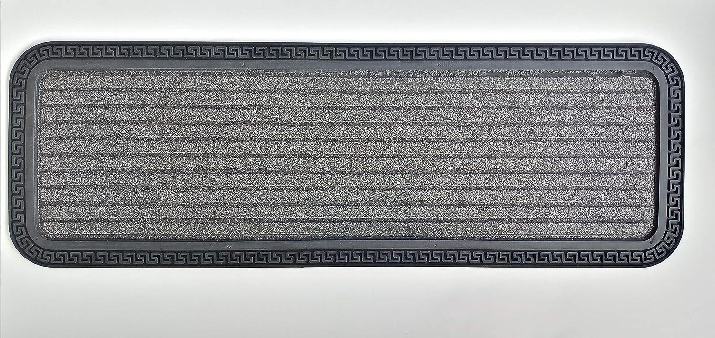 Amazon Com Ottomanson Rubber Collection Non Slip Design Stair | Ottomanson Safety Stair Treads | Wood | Dark Beige | Beige | Anti Slip | Slip Rubber Stair