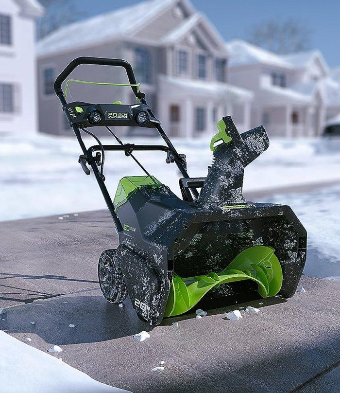Best Cordless Snow Thrower