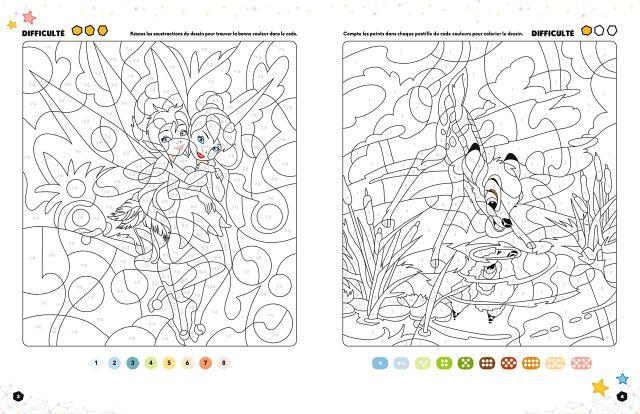 DISNEY CLASSIQUES - Les Petits Génies - Coloriages à décoder
