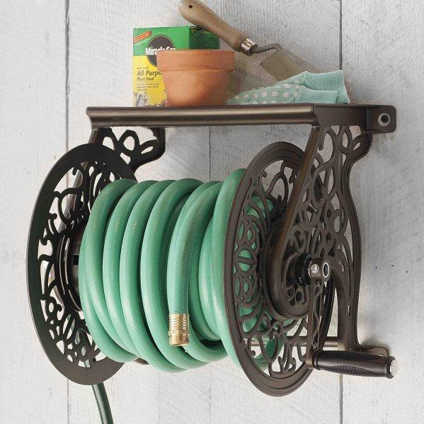 best hose reel cart with wheels