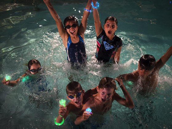Starlight Swimming games- the glow-in-the-dark outdoor game kit
