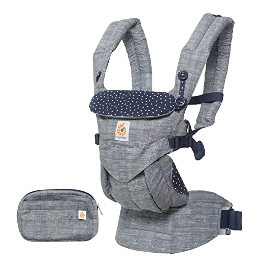 Ergobaby Omni 360 All-in-One Ergonomic Baby Carrier, All Carry Positions, Newborn to Toddler, Star Dust