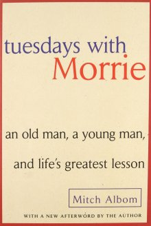 Image result for tuesdays with morrie