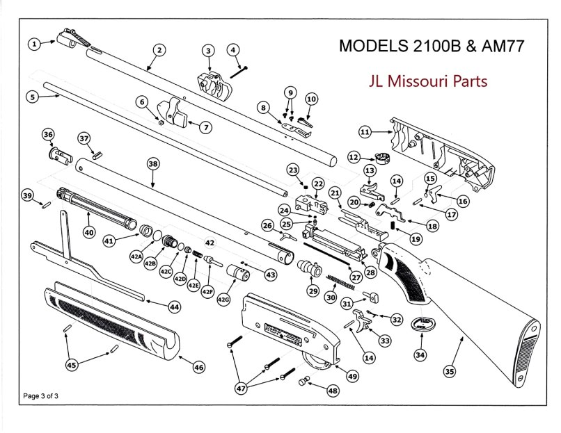 Com Jl Missouri Parts Crosman Pumpmaster 760 Pressure Check Valve Bb Pellet Air Part Seal Sports Outdoors