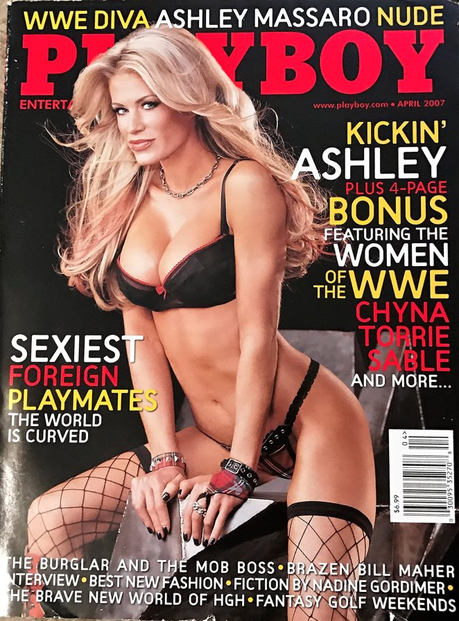 Image result for Ashley Massaro playboy