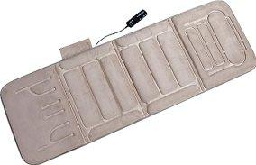 Relaxzen 10-Motor Massage Standard Mat with Heat, Beige
