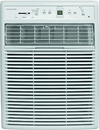 Amazon Com Frigidaire Ffrs0822s1 8000 Btu Heavy Duty Slider Casement Electronic Remote Control Window Air Conditioner 8 000 White Home Kitchen