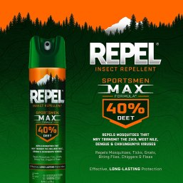 Repel 33802 Sportsmen Max Insect Lent 6.5 oz