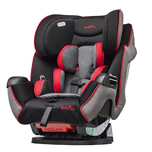 Evenflo Symphony LX 3 in 1 Convertible Car Seat