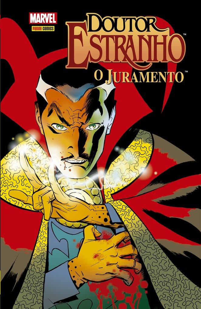 Relendo Doutor Estranho – O Juramento, de Brian K. Vaughan e Marcos Martín   Quadrinhos   Revista Ambrosia