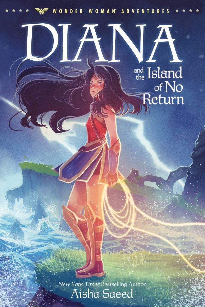 Amazon.com: Diana and the Island of No Return (Wonder Woman Adventures)  (9780593174470): Saeed, Aisha: Books