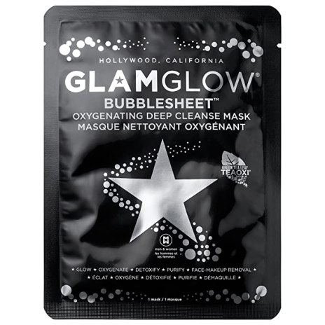 Glamglow deep cleaning sheet mask, pamper yourself