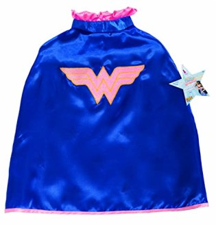 My Super Best Friends Wonder Woman Cape With Puff Hanger
