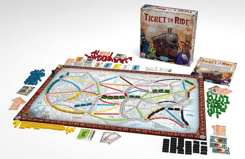 Ticket to Ride - Best Two-Player Board Games for Date Night | Chris Sosa Photography, Miami Wedding Photographer