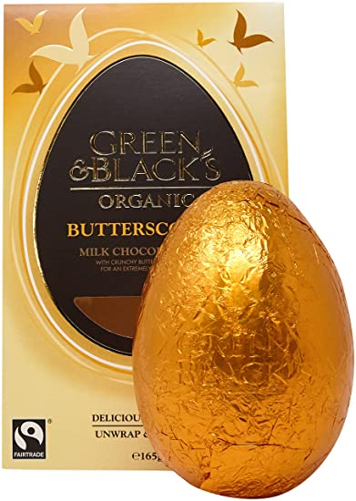 GREEN & BLACKS Organic Choc Mk Easter Egg