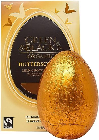 GREEN & BLACKS Organic Choc Mk Easter Egg