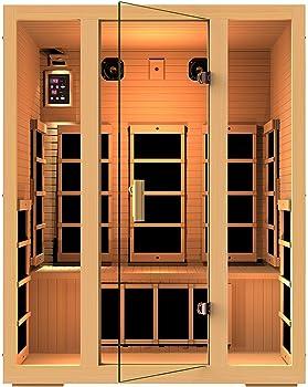3 person infrared sauna