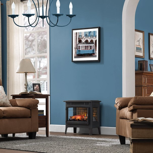Duraflame Electric Infrared Quartz Fireplace Stove with 3D Flame Effect review