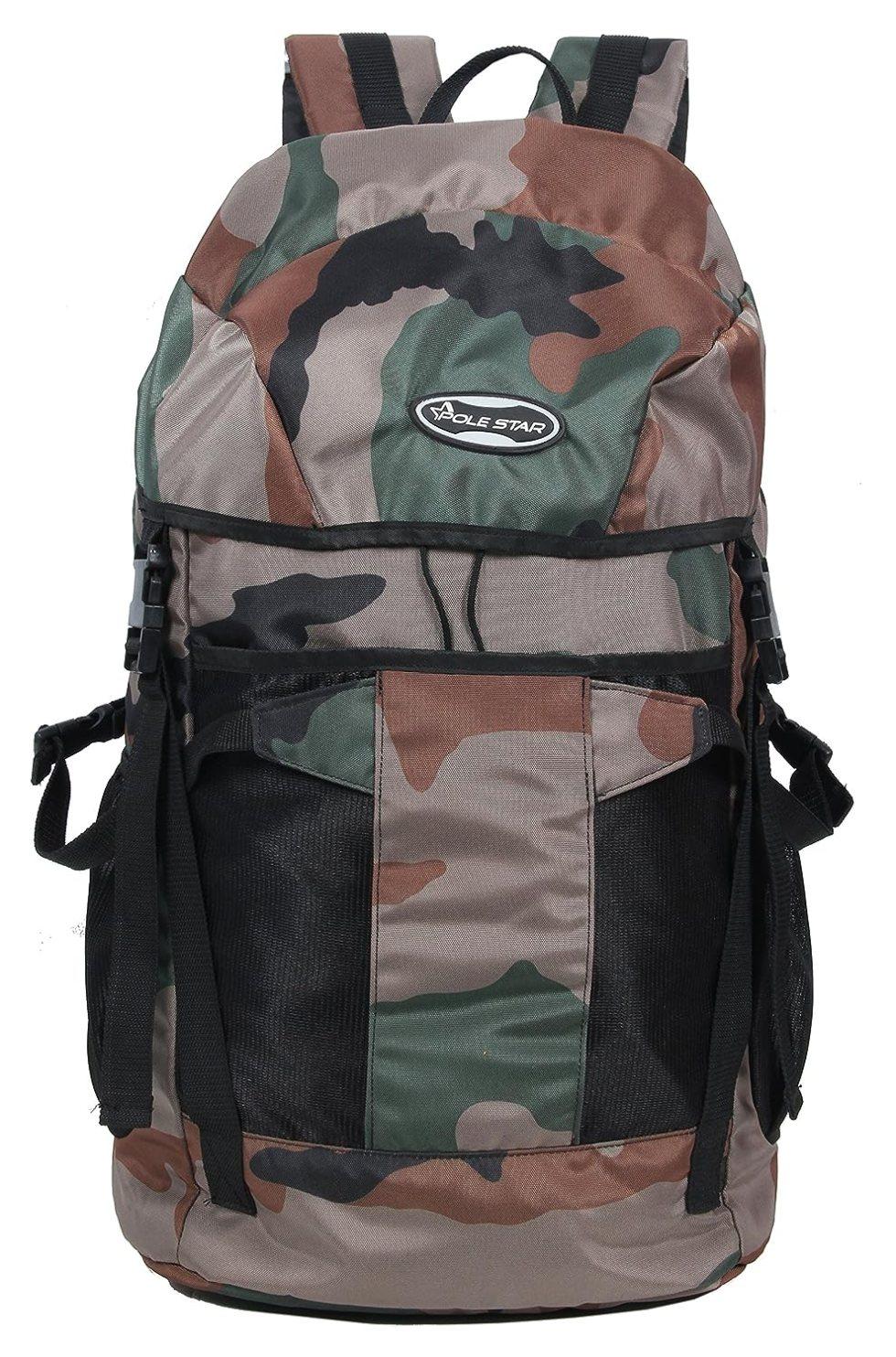 Rocky Polyester Travel Bag 44 Lt military Weekend Backpack Bag