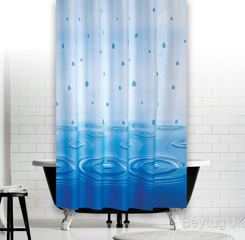 200cm long shower curtain | Nakedsnakepress.com