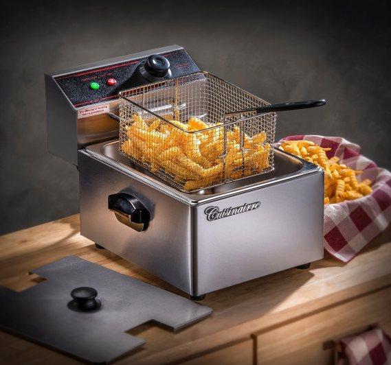 Cuisinairre Single Stainless Steel Deep Fryer - 6 Liter