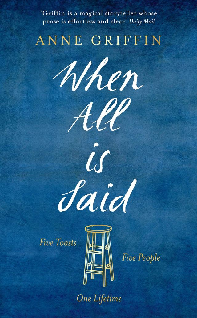 Image result for when all is said and done book by anne griffin