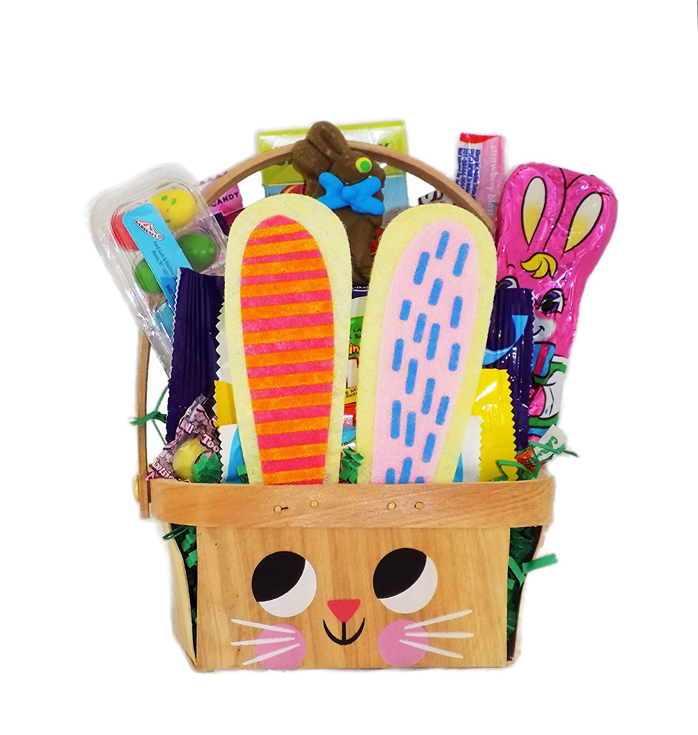 Adorable Easter Bunny Candy Basket for Kids Teens
