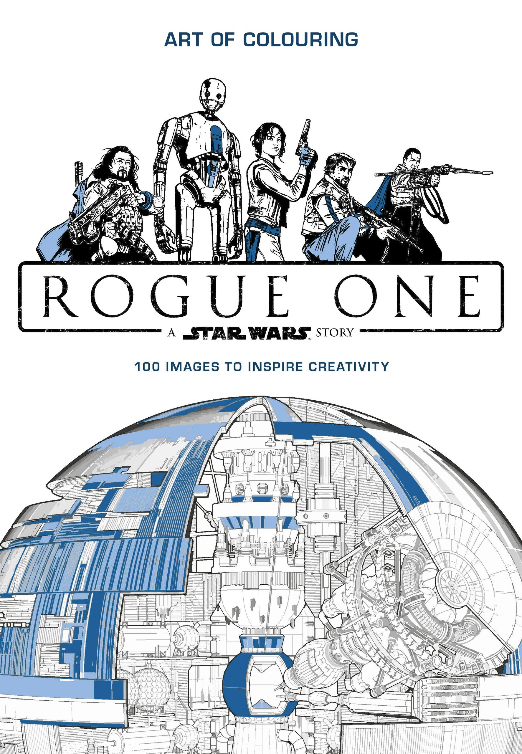 Star Wars Rogue One Art Of Colouring Amazon Co Uk Lucasfilm 9781405286374 Books
